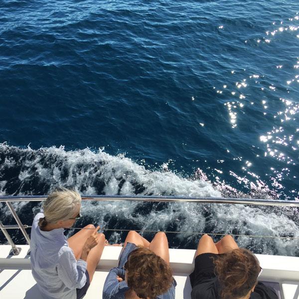journée catamaran moteur